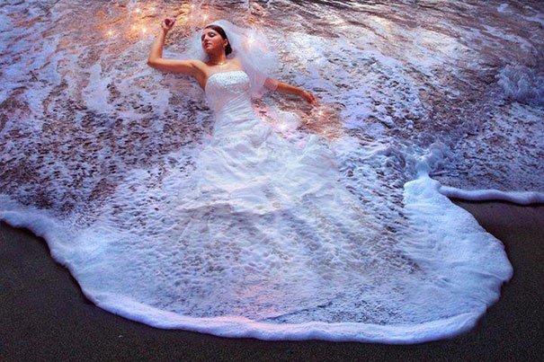 Mariée vague